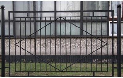 Кованый секционный забор